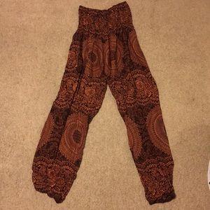 High Waisted Thailand Pants